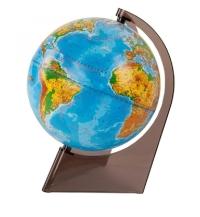 Глобус 210 мм физический на треугольной подставке 10273